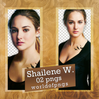 pack png 175 - Shailene Woodley by worldofpngs