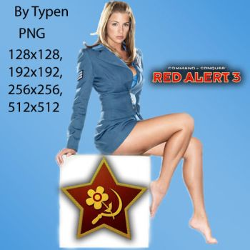Red Alert 3 Dock Icon 2 by Typen