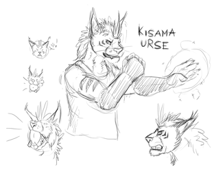 Kisama Urse sketches by timba
