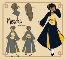 Mesoka - Lv 5 by hyperionwitch