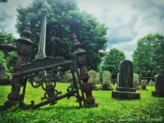 Among the Graves of my Past by Lauren-3-Elizabeth