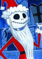 Santa Jack by danidraws