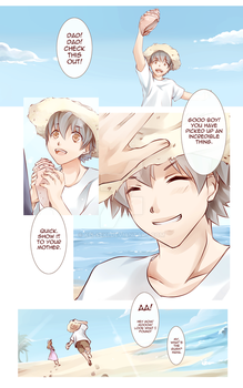 Webtoon Page Sample by Kei-Seki