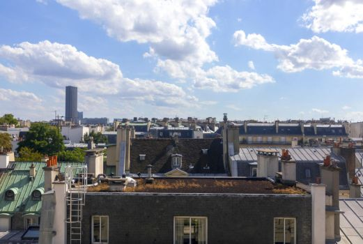Paris rooftops by sequential