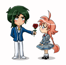 FxA -V-day- Not a special rose by amako-chan