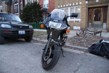 EX500 Front Profile by Kellisanth