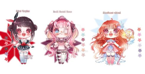 CUTE ADOPTABLES Set Price #2 [CLOSED] by Inntary