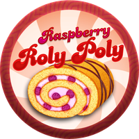 Raspberry Roly Poly with Custard by Echilon