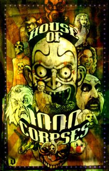 house of 1000 corpses by diegocalavera