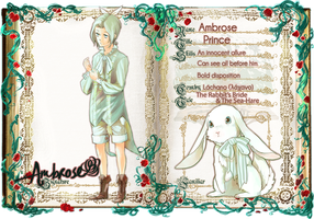 GRIMM-CHRONICLES: ambrose by blithebird