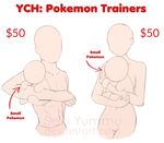 YCH: Pokemon Trainers [OPEN] by SeviYummy