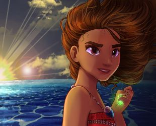 Moana - The Voyager by FoxxBrush