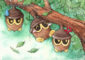 ACEO: Three brothers