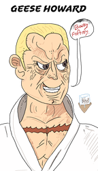 Geese Howard mugshot by SnD-Frostey