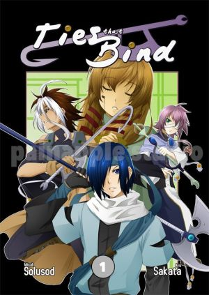 Color. Ties That Bind GN 1 Cover by maioceaneyes