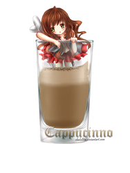 CR cup collab : cappucinno by chalollita