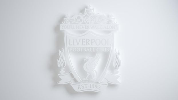 Liverpool Wallpaper White by xerix93