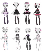 Outfit Adoptable Mix 2 [ CLOSED ] by Hunibi