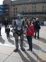 Me and My Cyberman by pigwigeon