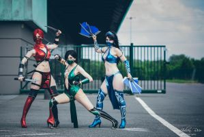 Deadly Trio by LuceCosplay