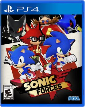 Nibroc's Sonic Forces Boxart PS4 Version by Nibroc-Rock