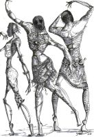 Ikanian redead dancers by Carb0nell