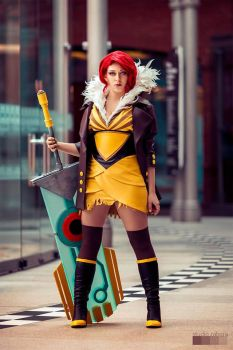 TRANSISTOR: I am Red. by Kairisia