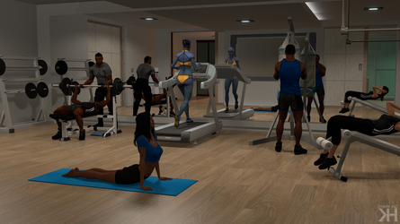 Sam's Apartment Guide #8: Fitness First by Grummel83