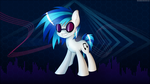 Dubstep Background Pony by SentireAeris