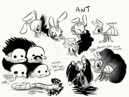 Not a proper ant by LytletheLemur