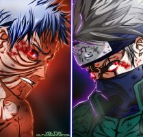 Naruto 686 - Good bye kakashi by Voltzix