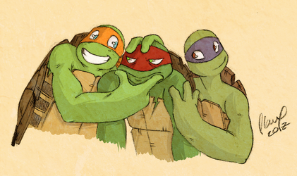 Admit it, Raph! by FlauxPG