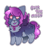 Over the Moon Galacticat Auction [Closed] by Cassiopie