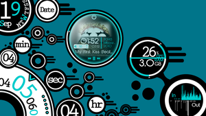 Circles'n'Lines for Rainmeter 2.0 by 2ndIdentity