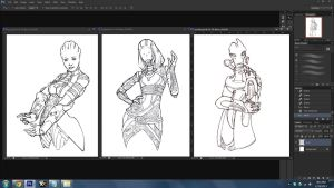 WIPs for 01/18/13 by Jacinthe