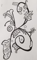 Black and White Design #1 by Surdy12321