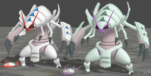XPS Pokemon Sun and Moon Wimpod and Golisopod