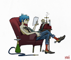 I dont always draw 2-D... by Murder-Ball