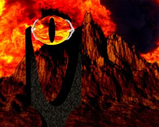 Eye Of Mordor by DPCloud01