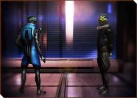 Drell training 01 by RenKrios