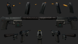 HK MK 23 by GrimmWrecking