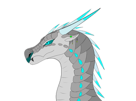 .:P:. Icemoon Headshot by Darkumbreon92