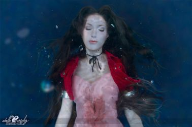 Aerith Death Cosplay by Adella