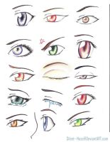 anime eyes by Silent--Haze
