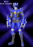 The Power Rangers: Billy by Distephano