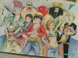 One Piece commission by JCLIllustrations