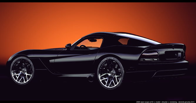 viper srt 10 by domino3d
