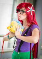 Flounder Loves You by NovemberCosplay