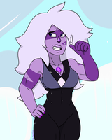 Amethyst (Jasper Shape Shift) by MrChaseComix