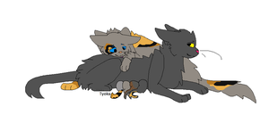 Commision: Rockybird And Kits by TyokaYuka